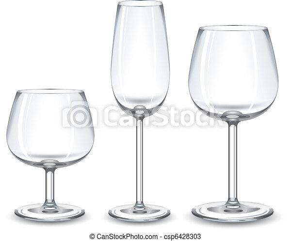 Gafas de vino - csp6428303