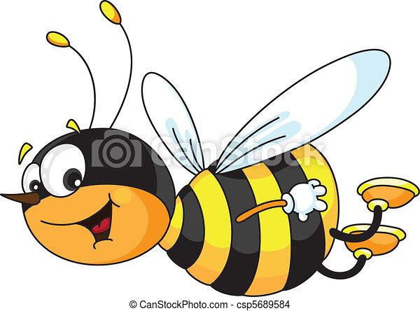 gai, abeille - csp5689584