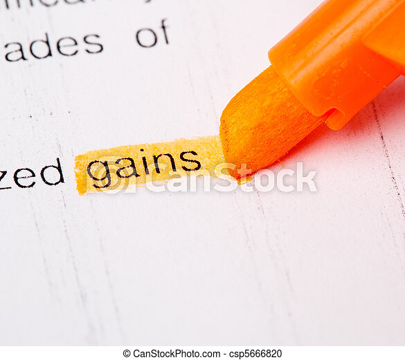 gains word - csp5666820