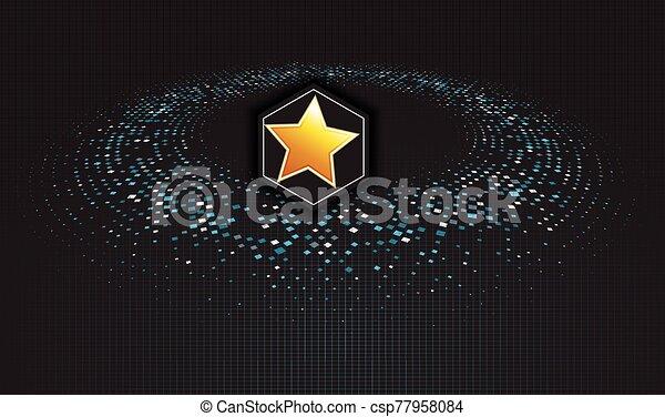 galaxia, estrella - csp77958084