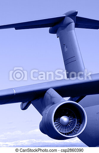 Galaxy C-5 Transport Aircraft - csp2860390