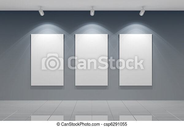 Gallery wall - csp6291055