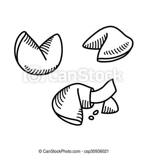 Galletas de la suerte - csp30936021