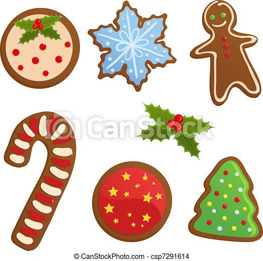 Dibujos de galletas de navidad