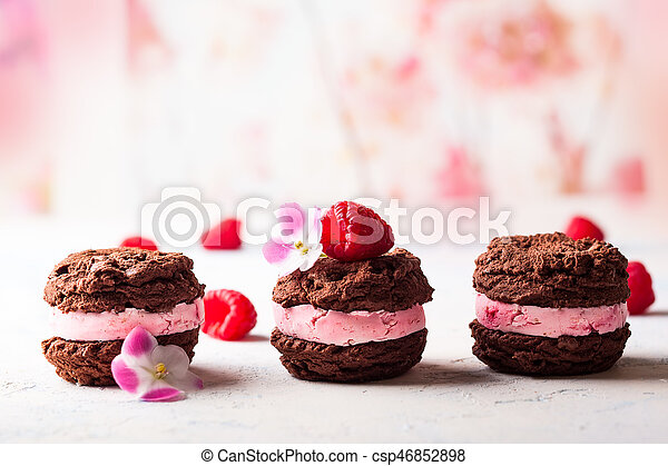 Galletas de helado - csp46852898