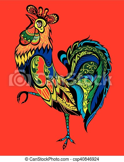 Rooster - csp40846924