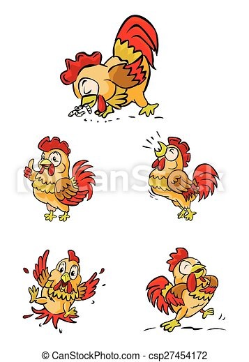 Rooster - csp27454172