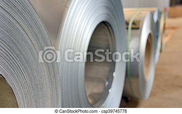 galvanized steel coil - csp39745778