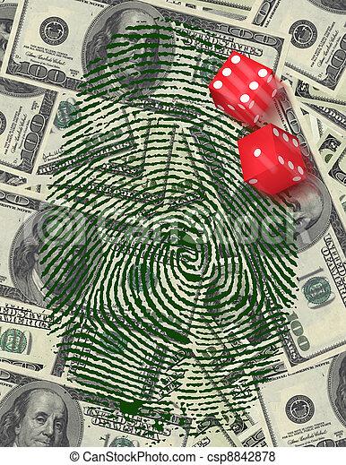 Gamble Investment or Investigation - csp8842878