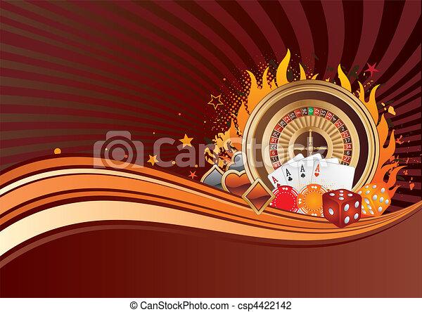 gambling background - csp4422142
