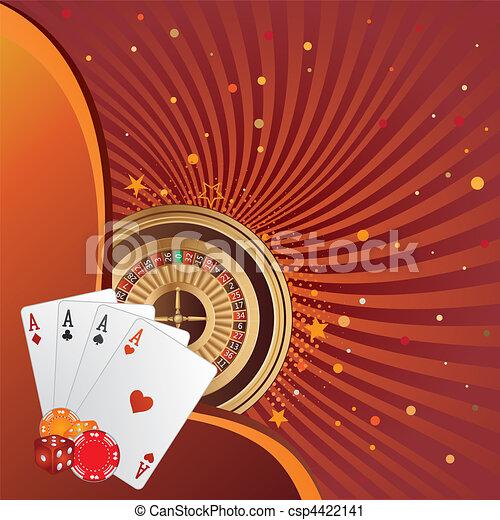gambling background - csp4422141