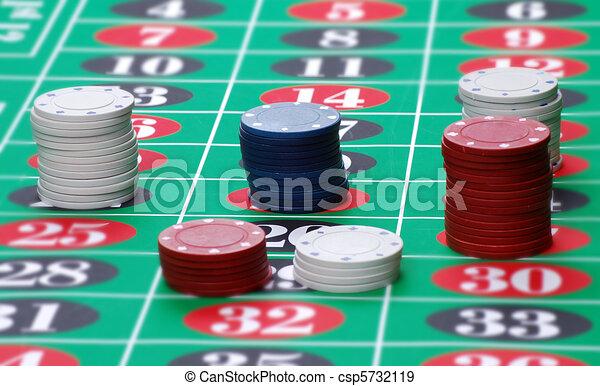 Gambling chips - csp5732119