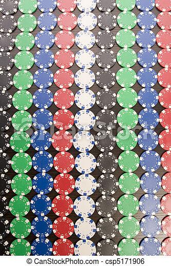 Gambling chips - csp5171906