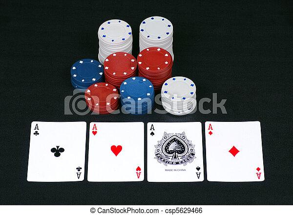 Gambling chips - csp5629466