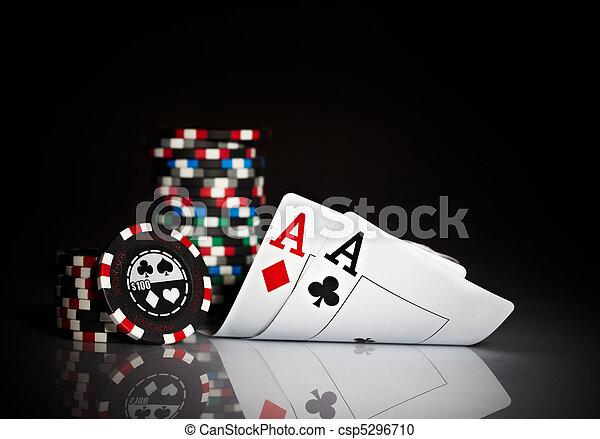 gambling chips - csp5296710