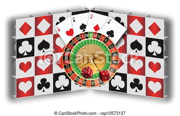 Gambling - csp10573137