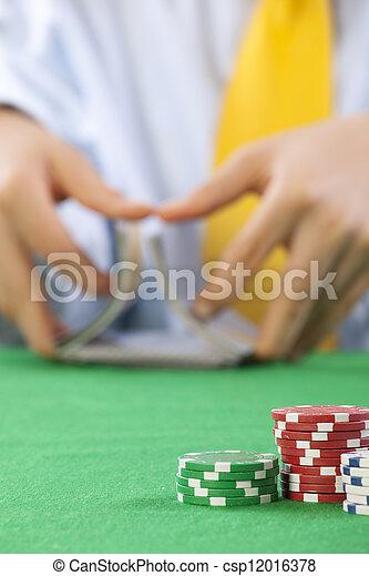 gambling  - csp12016378