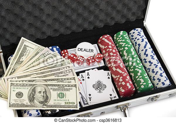 Gambling set - csp3616813