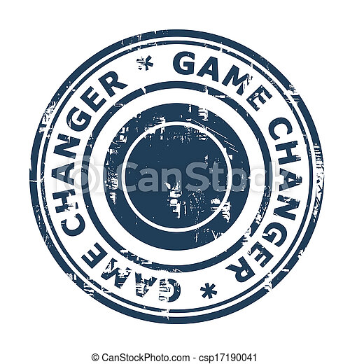 Game Changer business stamp - csp17190041