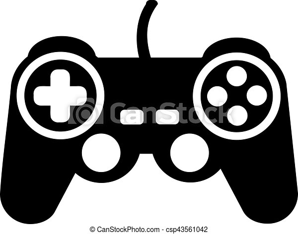 game controller rh canstockphoto com video game controller clip art video game controller clip art black and white