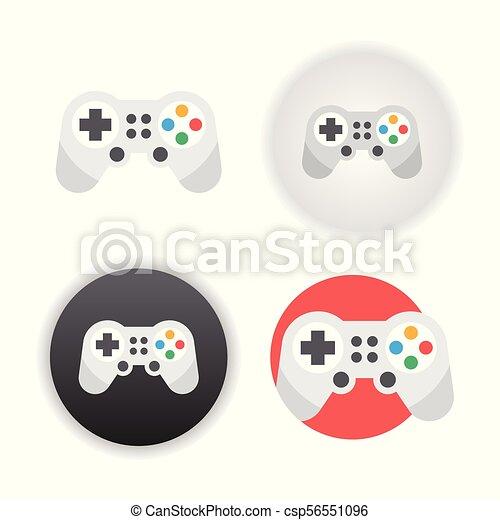 Game controller icon - csp56551096