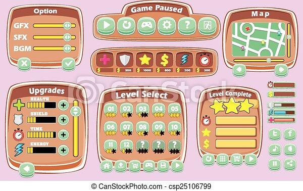 game gui pack 05