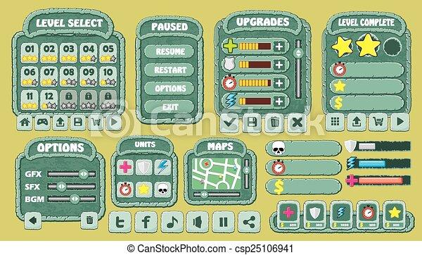 game gui pack 07
