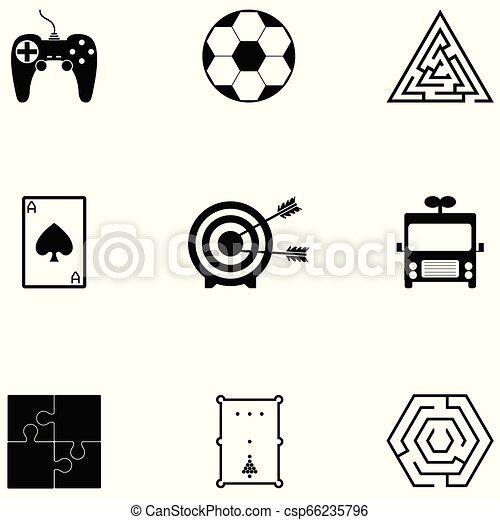 game icon set - csp66235796