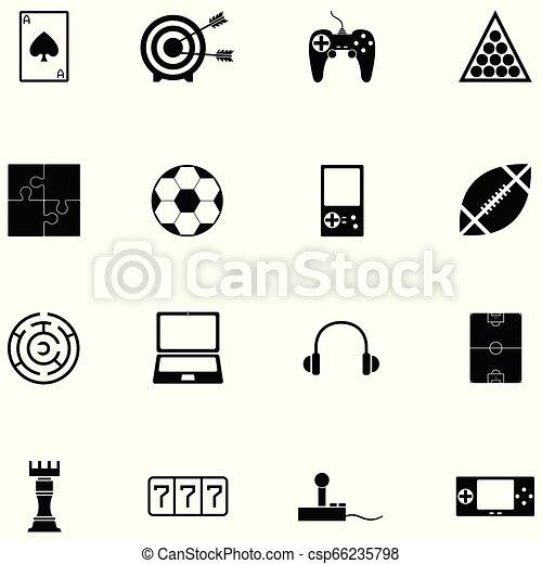 game icon set - csp66235798