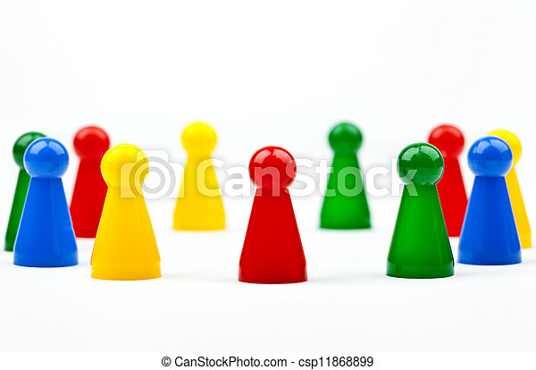 Game Pieces/Figures - csp11868899