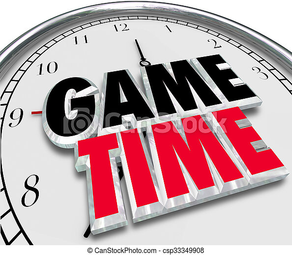Game Time Clock Fun Enjoyment Playing Event Game Time