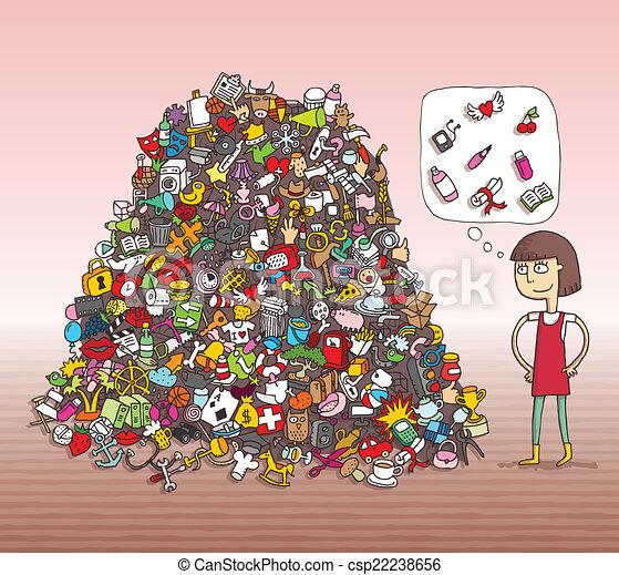 game., visuel, solution, layer!, objets, caché, trouver - csp22238656