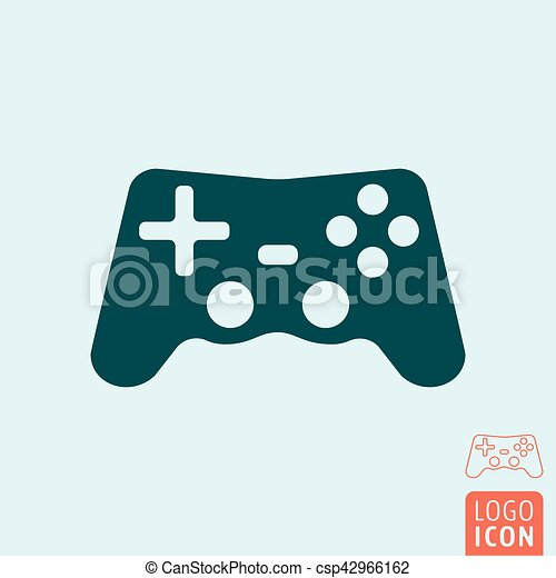 Gamepad Icon Isolated Gamepad Icon Video Game Controller Symbol