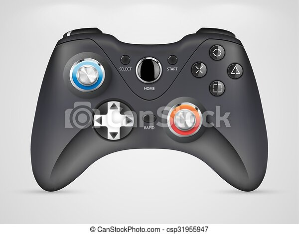 Gamepad - video game controller - csp31955947