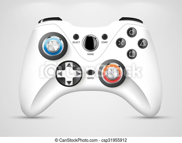 Gamepad - video game controller - csp31955912