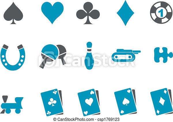 Games Icon Set - csp1769123