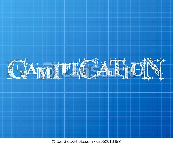 Gamification word blueprint gamification text hand drawn on gamification word blueprint csp52018492 malvernweather Gallery