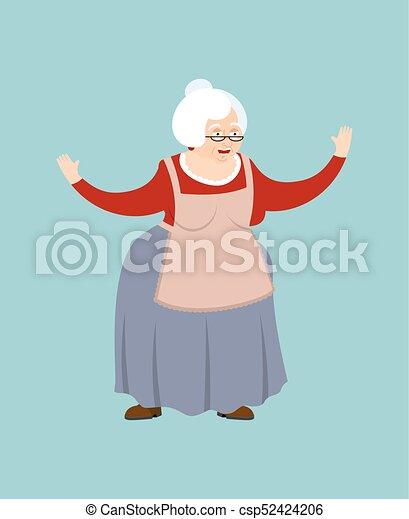 Gamle bedstemor