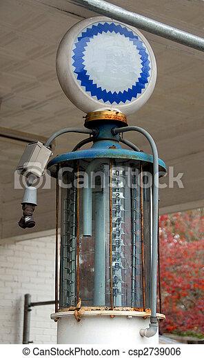 gammal, pump, gas - csp2739006