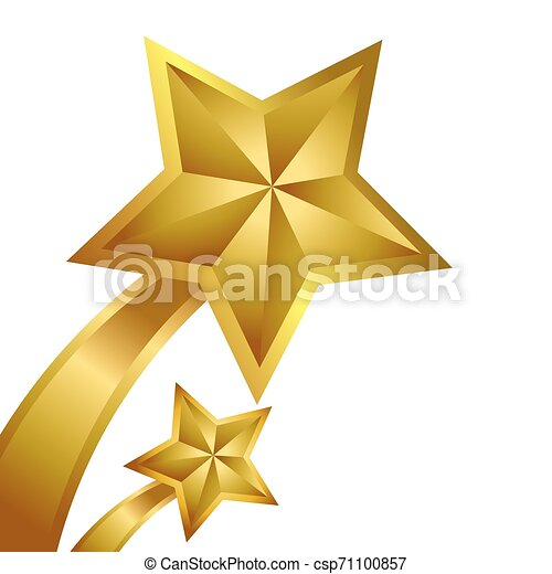 Ganador de estrellas doradas - csp71100857