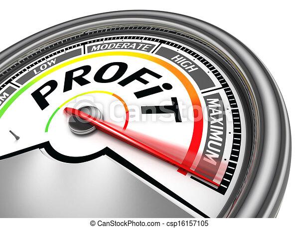 Medidor conceptual de ganancias - csp16157105