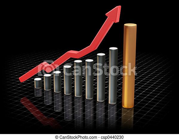 Aumentando los beneficios - csp0440230