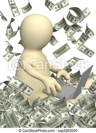 ganancias, internet - csp3263000