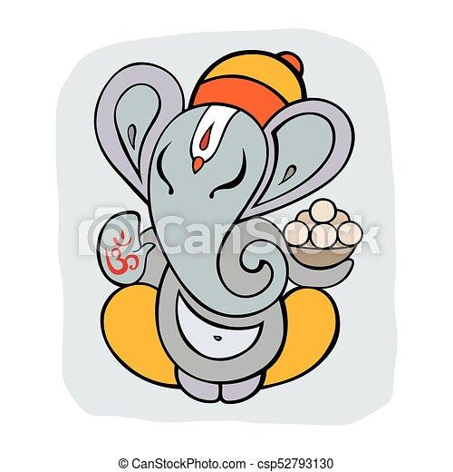 ganapati meditation in lotus pose hindu god ganesha hand