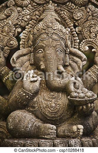 ganesh hindu god - csp10288418