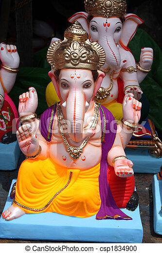 Ganesh Idol - csp1834900