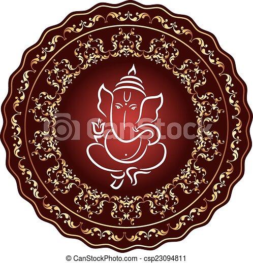 Ganesha The Lord Of Wisdom - csp23094811