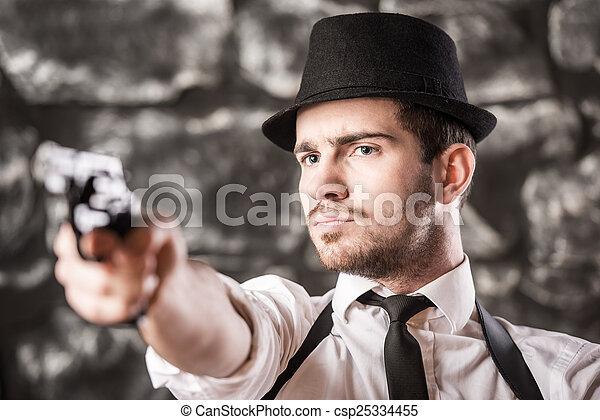 gangster. - csp25334455