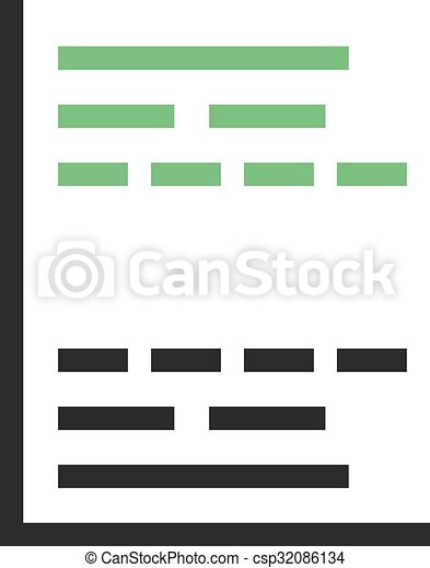 Gantt Chart Gantt Project Chart Icon Vector Image Can Also Be