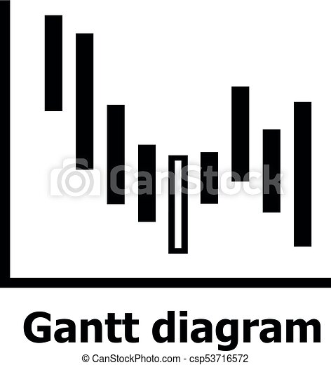 Gantt diagram icon simple style gantt diagram icon simple gantt diagram icon simple style csp53716572 ccuart Images